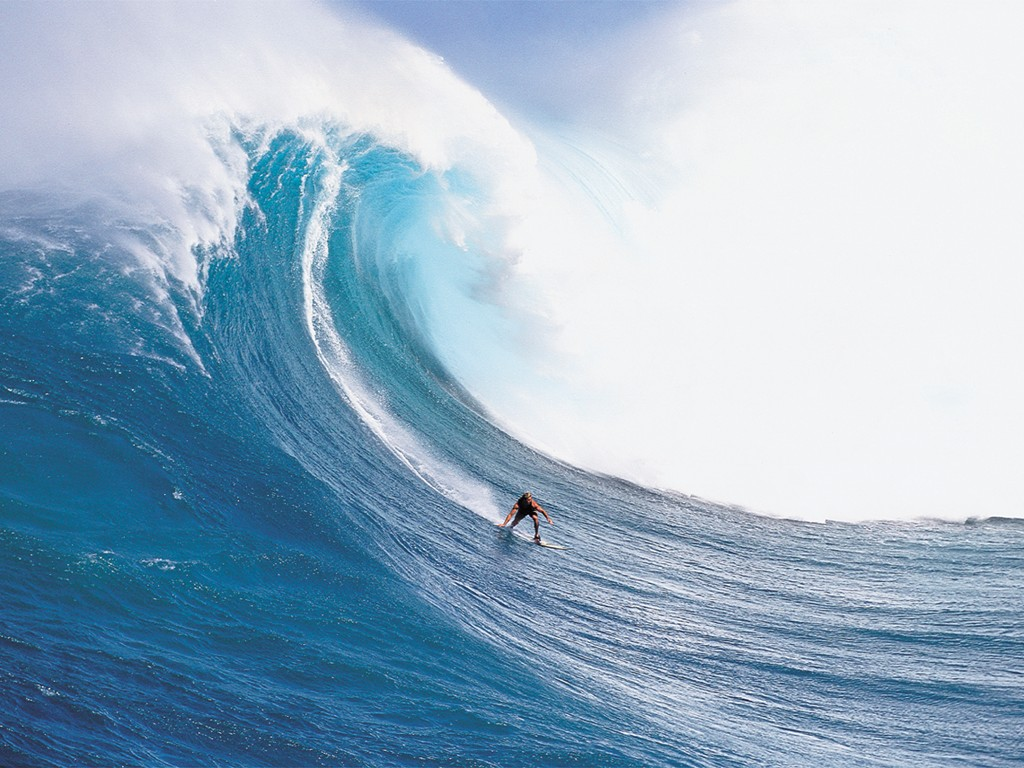 embodiment are you surfing the waves or getting a face full of