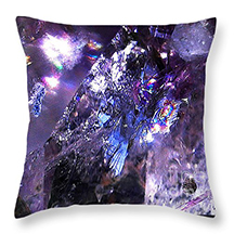 The Fairy Horse rider cushion